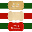 Set Vintage Christmas Labels