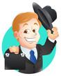 Banker Vector Illustration