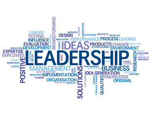 """""""LEADERSHIP"""" Tag Cloud (business excellence performance quality)"""