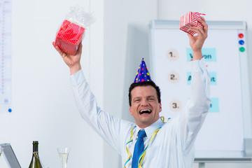 partystimmung im büro