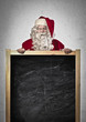 Santa Claus Blackboard