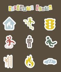 accident icons
