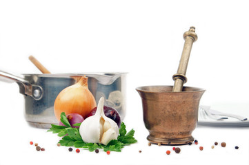 cuisine - épices et arpmates