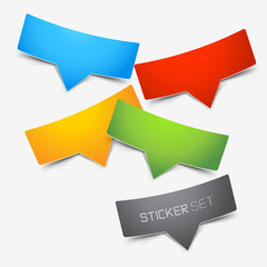Colourful Sticker Set