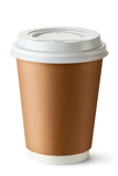 Take-out coffee in thermo cup