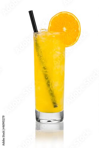 orange lemonade I Canvas