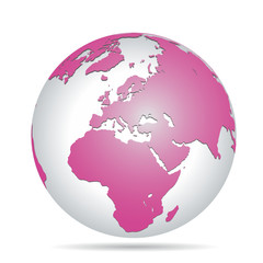 Pink Planet Earth