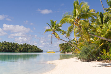 One Foot Island auf Aitutaki, Cook Islands