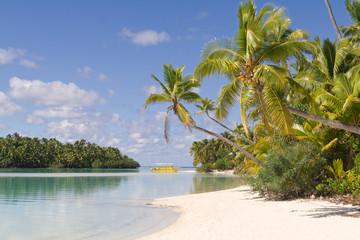 One Foot Island auf Aitutaki, Cook Islands