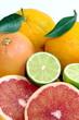 Pompelmo rosa,lime e arance