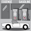 station, essence, carburant, voiture, pétrol, vente,