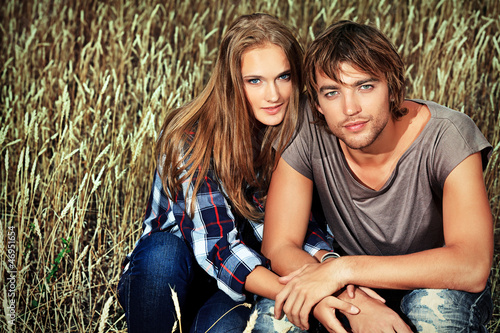 wheat couple