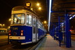 Vintage tram by night - 46952037