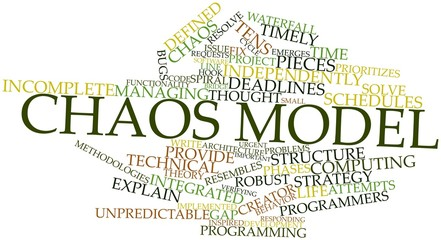 Word cloud for Chaos model