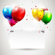 Modern Birthday Background Wit...