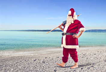 Santa Claus to the Sea