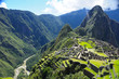 Leinwanddruck Bild - Machu Picchu, Peru
