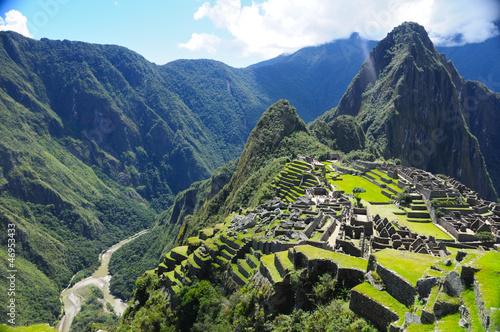 Leinwanddruck Bild Machu Picchu, Peru