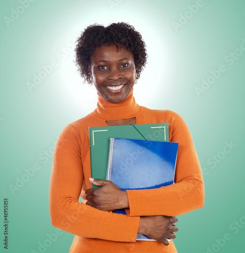 African-American university student