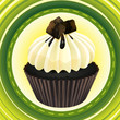 cupcake and a wallpaper