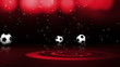 Soccer Balls and News Text - HD1080
