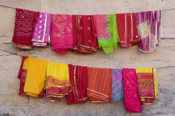 saree, traditional costume , Jodhpur, Rajasthan, India