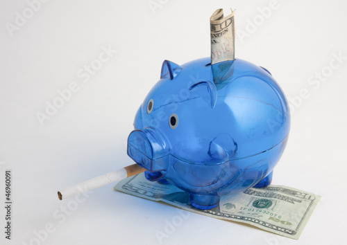 Smoking Money Piggy Bank