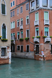 Intersection of Canals in Venice