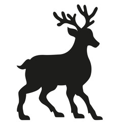 silhouette of a deer illustration