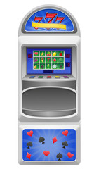 slot machine illustration