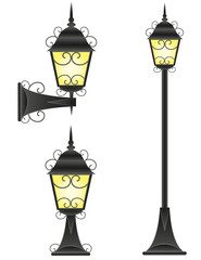 streetlight illustration
