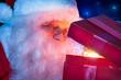 Santa Claus with Magic Christmas Gift