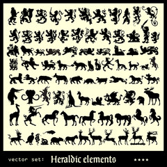 heraldic elements mammals
