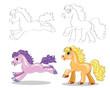 four horse