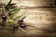 Leinwandbild Motiv olives