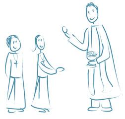 enfants première communion