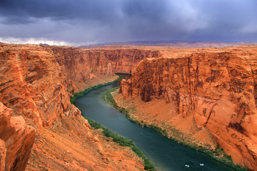 Beautiful glen canyon area