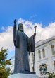 Statue of Archbishop of Greece Damaskinos (1891-1949), Athens