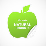 Natural product. Vector illustration, EPS 10