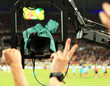 TV Camera Shoots Fans Sector D...