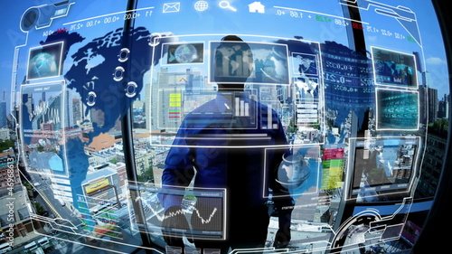 Business communications in touchscreen technology