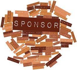 Word cloud for Sponsor