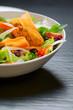 insalata mista con polpette di ceci