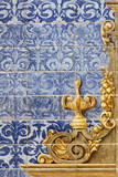 Ceramic wall tiles in Seville, Spain