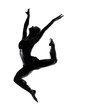 bodypainted dancer