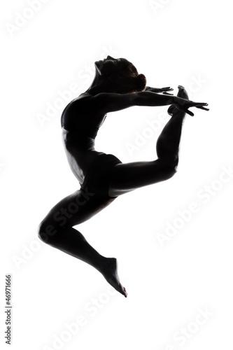 Pomalowane ciało tancerki