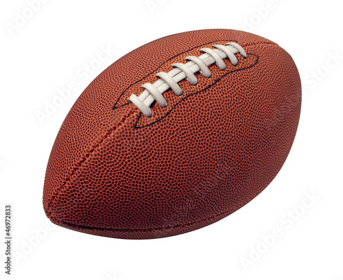 canvas print picture Football Isolated