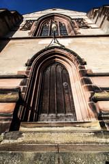 church steps to door