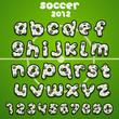 Football font