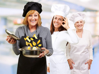 Female Chef's Happy With Their Food